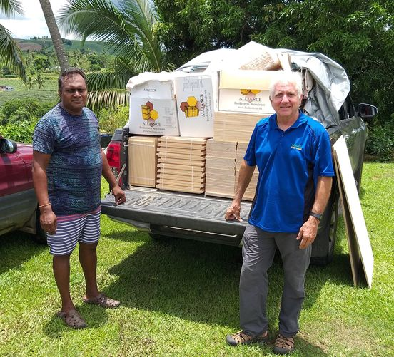 Fiji Beekeepers Association Mentor Program Update – February 2021 - Photo courtesy of John Caldeira