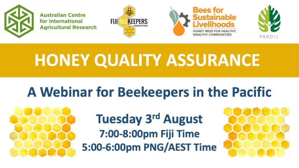 Honey Quality Assurance Webinar